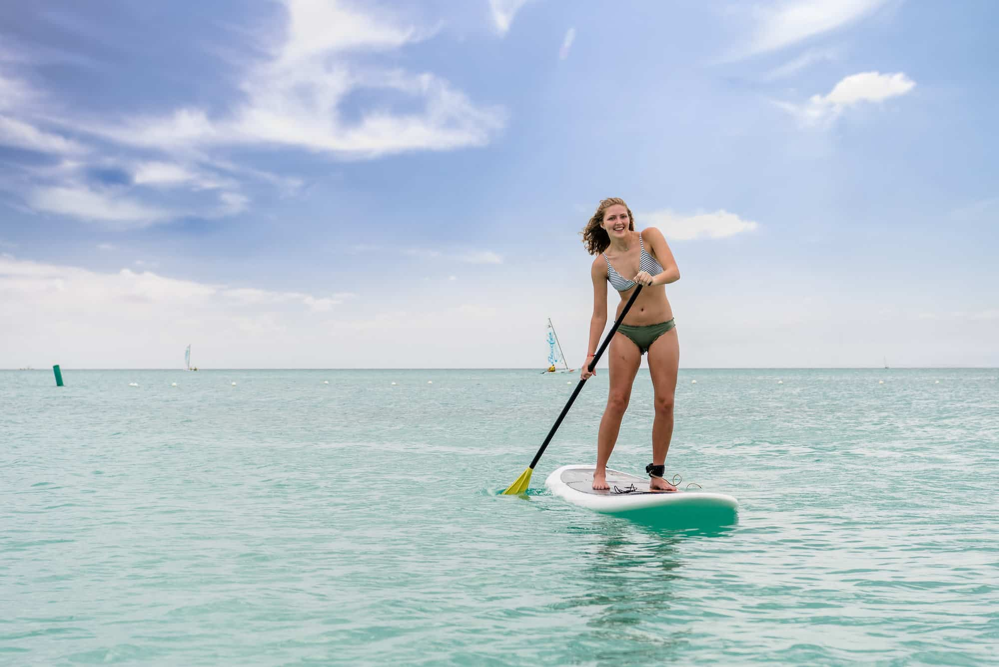 paddleboard grace bay